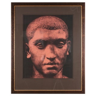 Original Xerography Print of Busts From Antiquity VIII For Sale