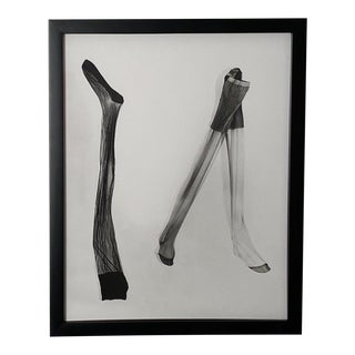 Vintage Photograph of Silk Stockings #3 For Sale