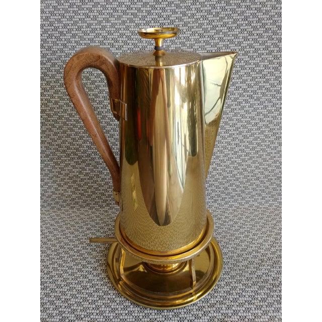 Tommi Parzinger Tommi Parzinger Brass Coffee Server Set For Sale - Image 4 of 11