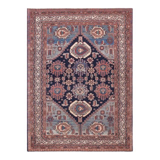 """Antique Persian Malayer Rug 4'10"""" X6'2"""" For Sale"""