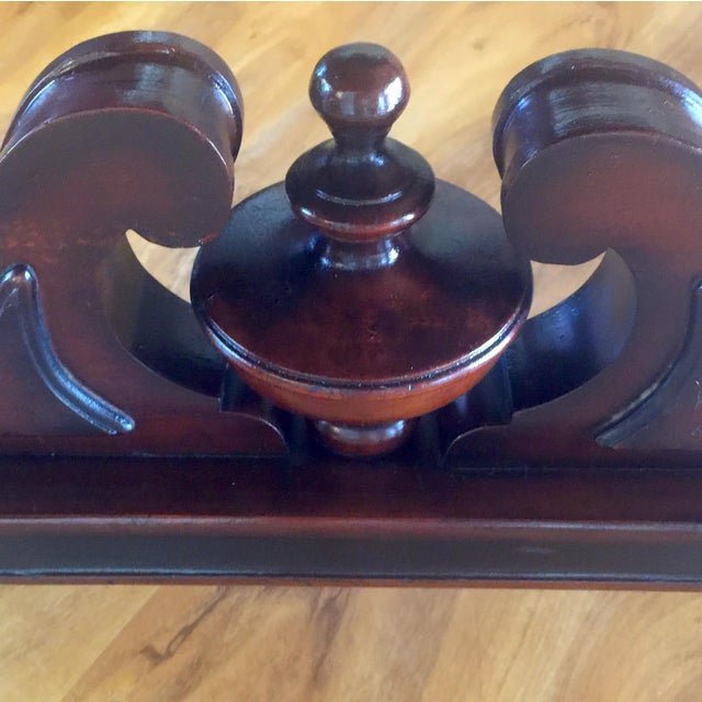 Traditional Vintage Traditional Mahogany Table For Sale - Image 3 of 8