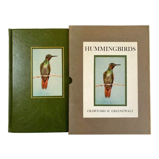 1960s Hummingbirds, Crawford. H Greenewalt, Limited Edition, Signed Book For Sale