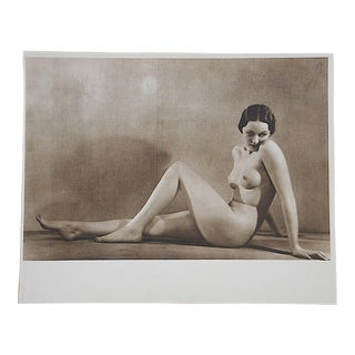 Vintage Mid Century Nude Photogravure For Sale