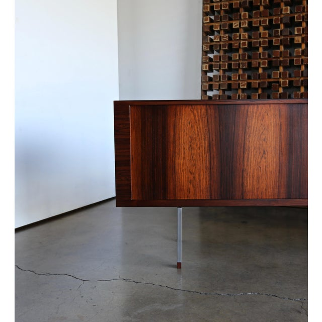 """Hans Wegner Rosewood """" President """" Credenza for Ry Mobler. Denmark, circa 1965. The rosewood has been expertly restored...."""