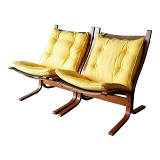 """1970s Ingmar Relling Newly Upholstered """"Seista"""" Chairs - a Pair For Sale"""