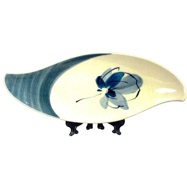 Felix Tissot Blue & White Mexican Dish - Image 1 of 8