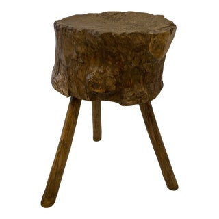 French Chopping Block/Table For Sale
