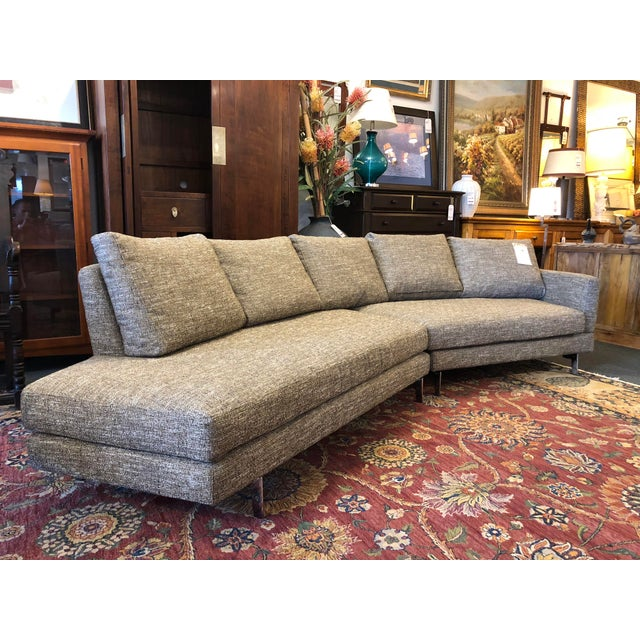 Design Plus Gallery presents a NEW Alexa Sectional, by Della Robbia. This two piece invites conversation, with angled...