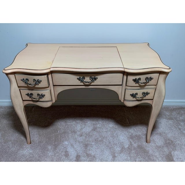 Off-white Karges Vanity Dressing Table - a Pair For Sale - Image 8 of 8