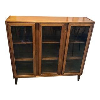 Mid-Century Modern Bookshelf Display Case