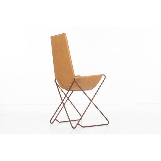 Animal Skin Arturo Pani Sling Chair For Sale - Image 7 of 9