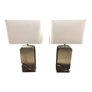 Pair of Pierre Cardin Table Lamps For Sale