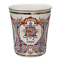 1902 King Edward VI Coronation Highball For Sale