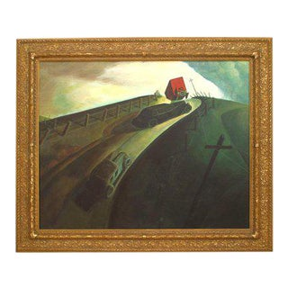 """""""Death on Rich Road"""" Reproduction Painting For Sale"""