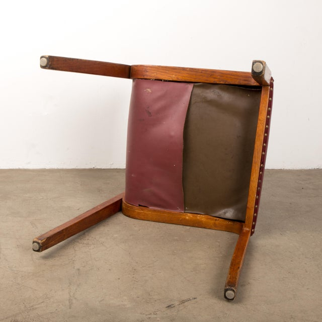 Bill Stephens for Knoll Bent Wood Dining Chair For Sale - Image 10 of 13