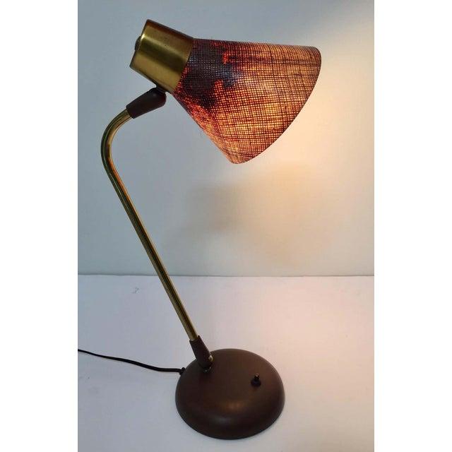 Gerald Thurston Desk Table Lamp for Lightolier, 1950s For Sale - Image 10 of 13