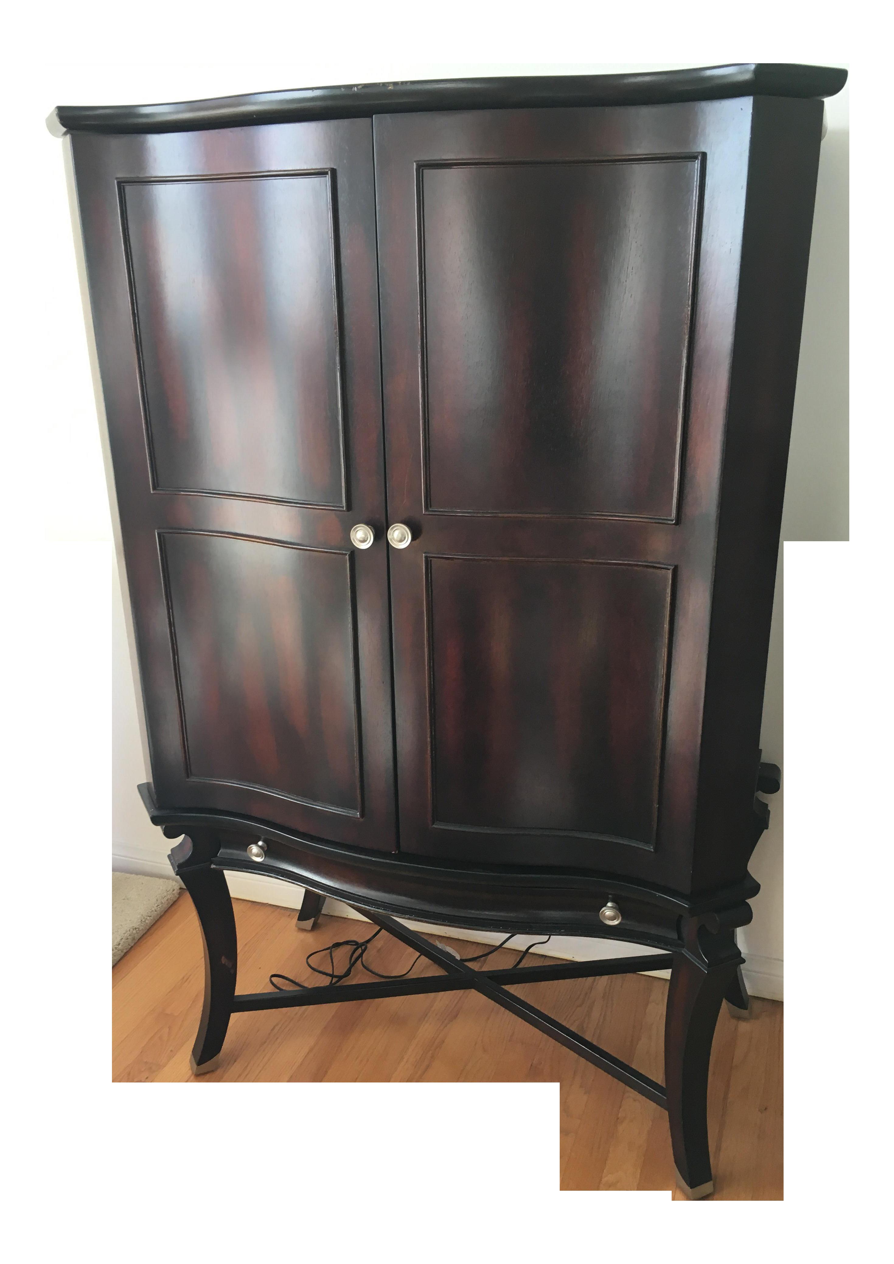 Cherry Bar Cabinet