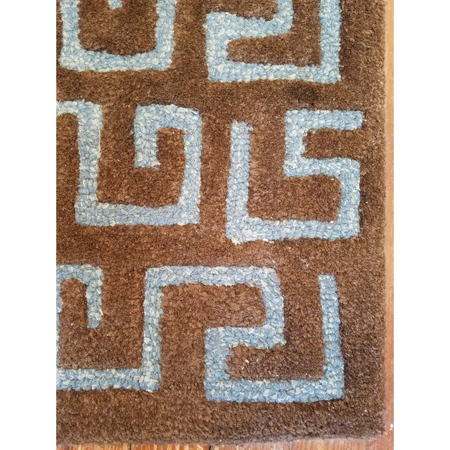 "Safavieh Safavieh Brown Pile ""Soho"" Runner - 2′6″ × 10′ For Sale - Image 4 of 6"