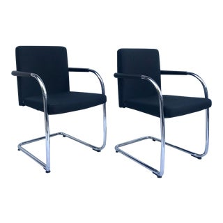 Pair of Modern Vitra Antonio Cittero Visaoft Cantilever Chairs For Sale