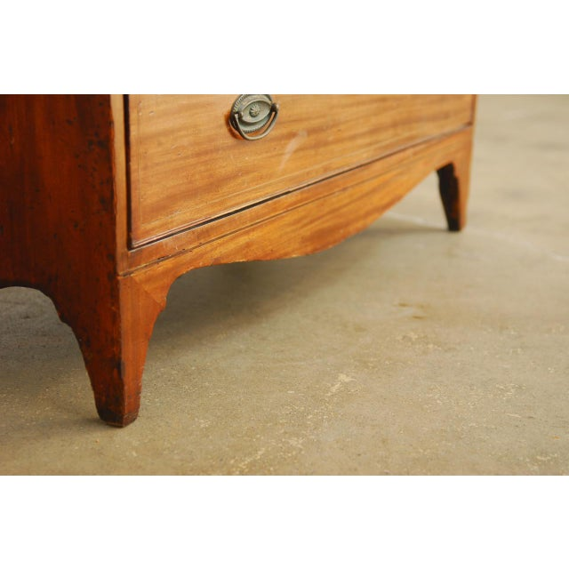 19th Century George III Mahogany Chest of Drawers For Sale In San Francisco - Image 6 of 12