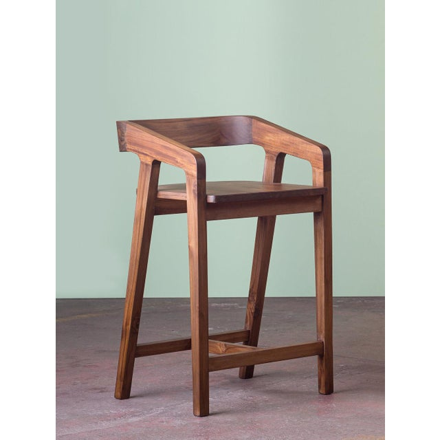 Contemporary Ebb and Flow Marcy Counter Stool For Sale - Image 3 of 3