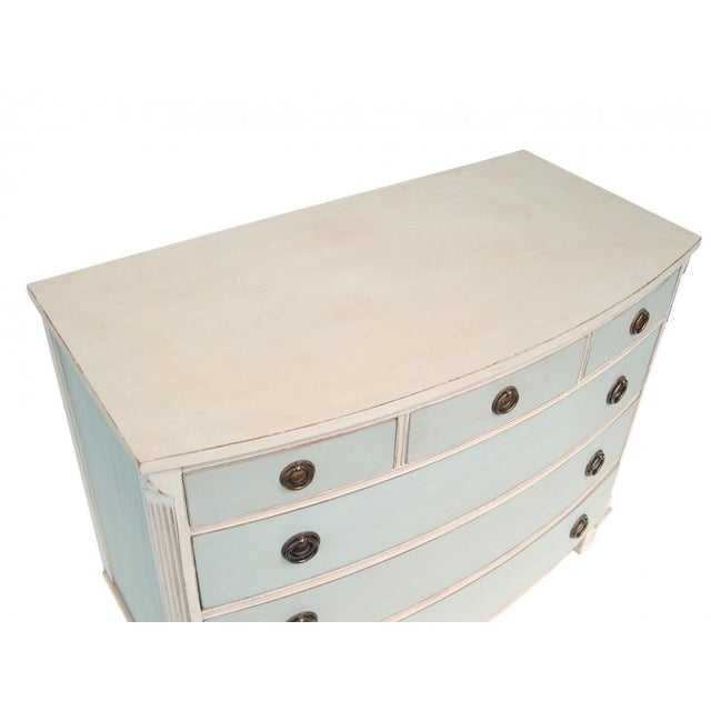 Swedish Blue and White Dresser - Image 7 of 10