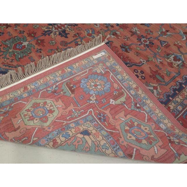 1980s Vintage Karastan Heriz Pattern Rug- 10′1″ × 15′ For Sale - Image 11 of 13