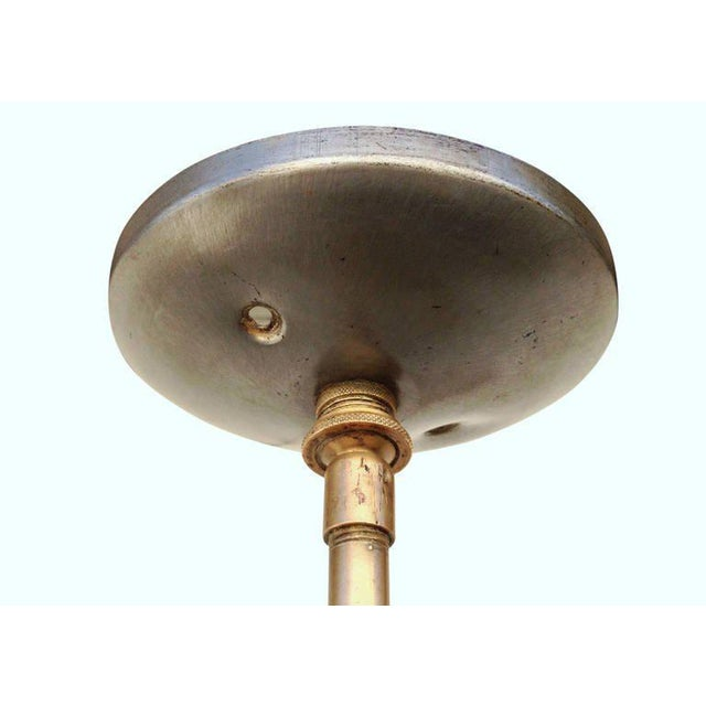 Copper Copper Art Deco Ceiling Hanging Pendant For Sale - Image 8 of 8
