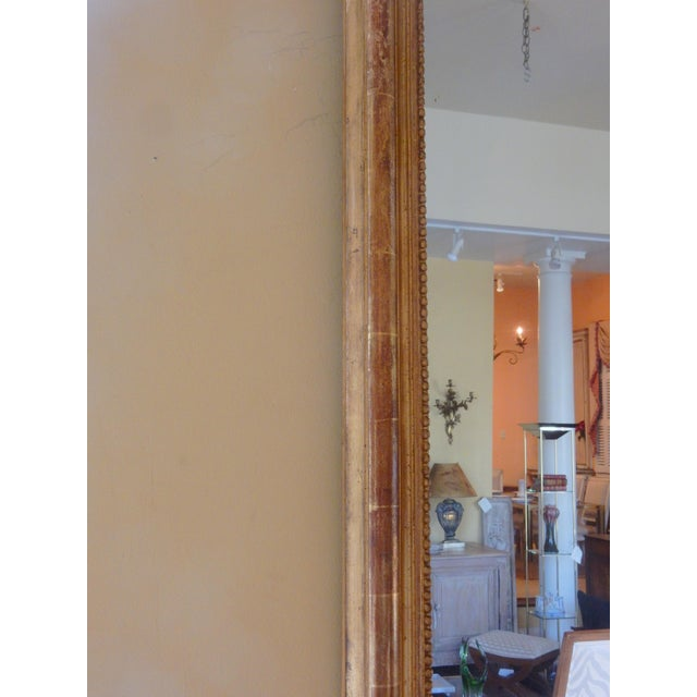 19th Century Louis XVI Gilt Mirror For Sale In New Orleans - Image 6 of 7