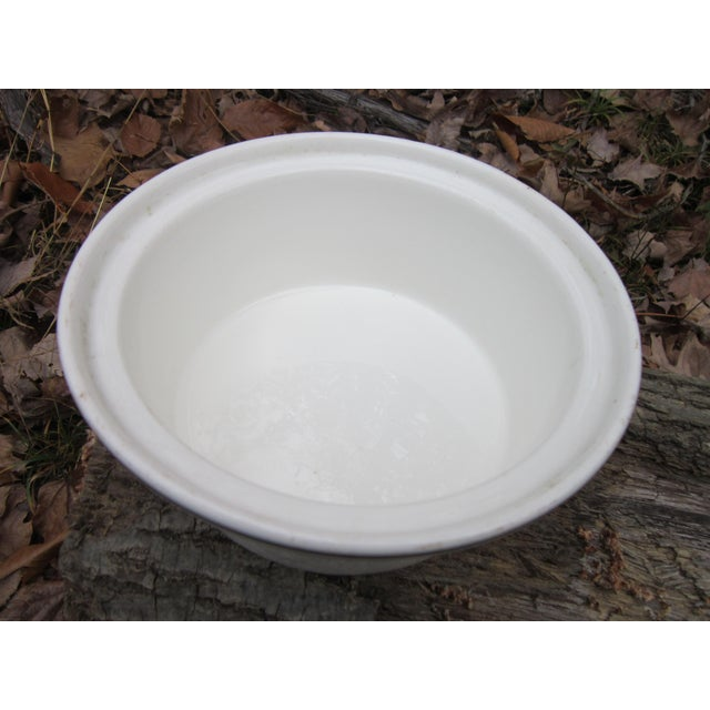 Ceramic Columbia Chinaware Harker Floral Baking Casserole Dish / Canister For Sale - Image 7 of 10