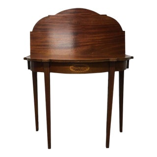 Rho Mobili d'Epoca Card Table in Mahogany and Satinwood, Italy For Sale