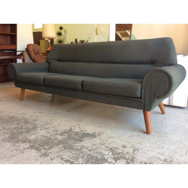 Teak Rare Kurt Ostervig Ryesberg Mobler Danish Sofa For Sale - Image 7 of 10