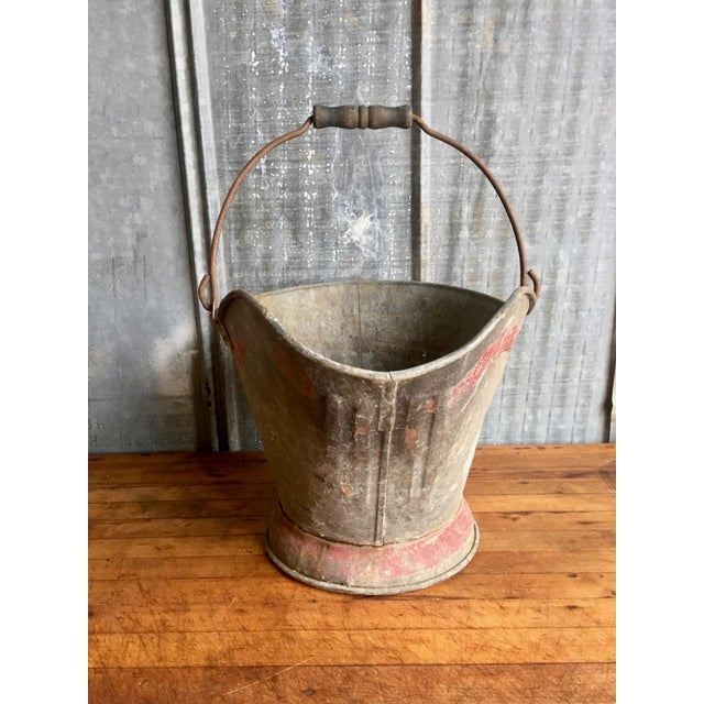 Vintage Coal Scuttle Bucket For Sale In Austin - Image 6 of 9