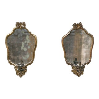 North Italy, C. 1730 , Pair of Mirrors For Sale