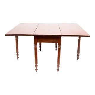 Semi-Antique Drop Leaf Table For Sale