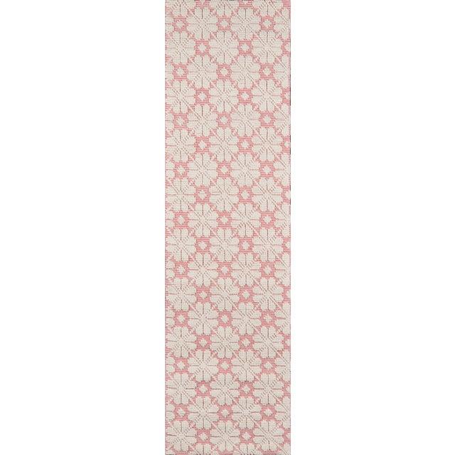 """2010s Madcap Cottage Lisbon Seville Pink Area Rug 3'6"""" X 5'6"""" For Sale - Image 5 of 8"""