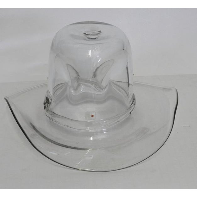 Late 20th Century Blenko Cowboy Hat Ice Bucket For Sale - Image 5 of 5