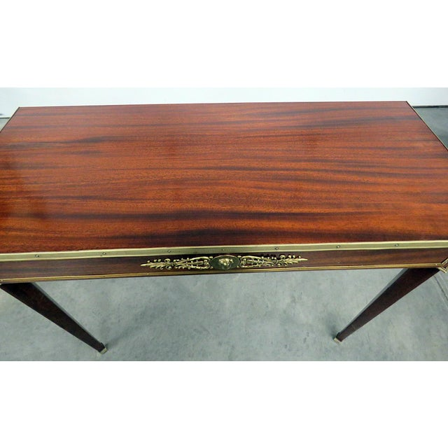 Directoire Style Console Table For Sale - Image 4 of 7
