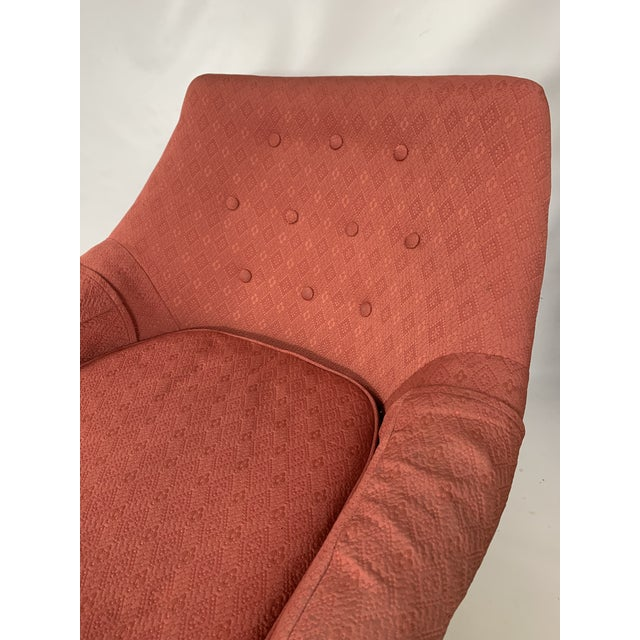 Danish Modern Mid-Century Lawrence Peabody - Craft Assoc. Lounge Chair For Sale - Image 3 of 10