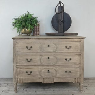 18th Century Country French Stripped Oak Commode Preview
