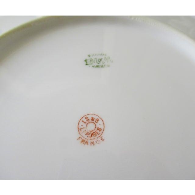 Vintage BMdeM, L. Strauss & Sons for Limoges Gilt Medallion Dinnerware - 60 Pieces For Sale - Image 12 of 13
