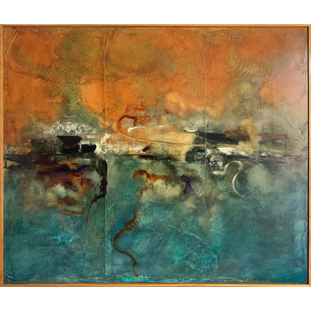 Abstract Painting by Joseph Maruska For Sale - Image 12 of 12