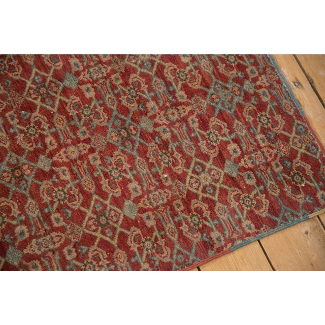 """1920s Vintage Fragment Mahal Square Rug - 2'7"""" X 3'2"""" For Sale - Image 5 of 9"""