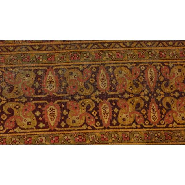 Antique Amritzar Rug - 9′ × 12′ - Image 3 of 5