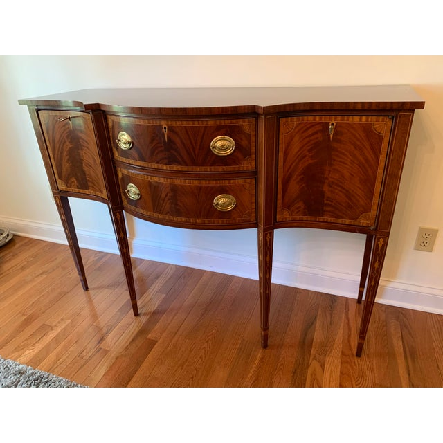 Federal Councill Craftsmen Mahogany Sideboard For Sale - Image 13 of 13
