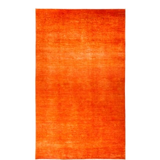 """Contemporary Vibrance Hand-Knotted Area Rug 8' 3"""" x 13' 10"""" For Sale"""