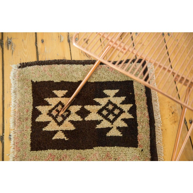 Serrated double medallion rug mat with great contrast and minimalist feel. Colors and shades include charcoal black, faded...