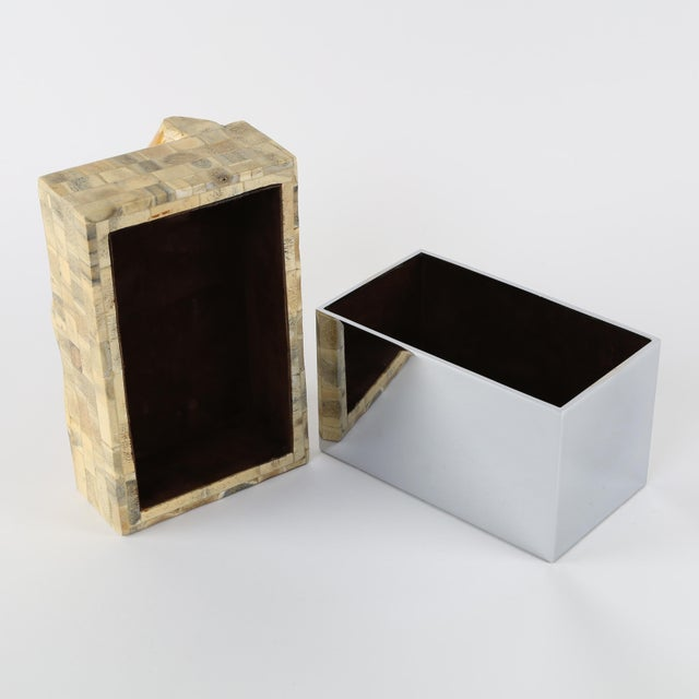 GENE JONSON AND ROBERT MARCIUS BONE AND NICKEL BOX, CIRCA 1970S - Image 7 of 10