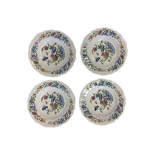 French Floral Bowls - Set of 4