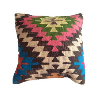 Vintage Pink Kilim Pillow